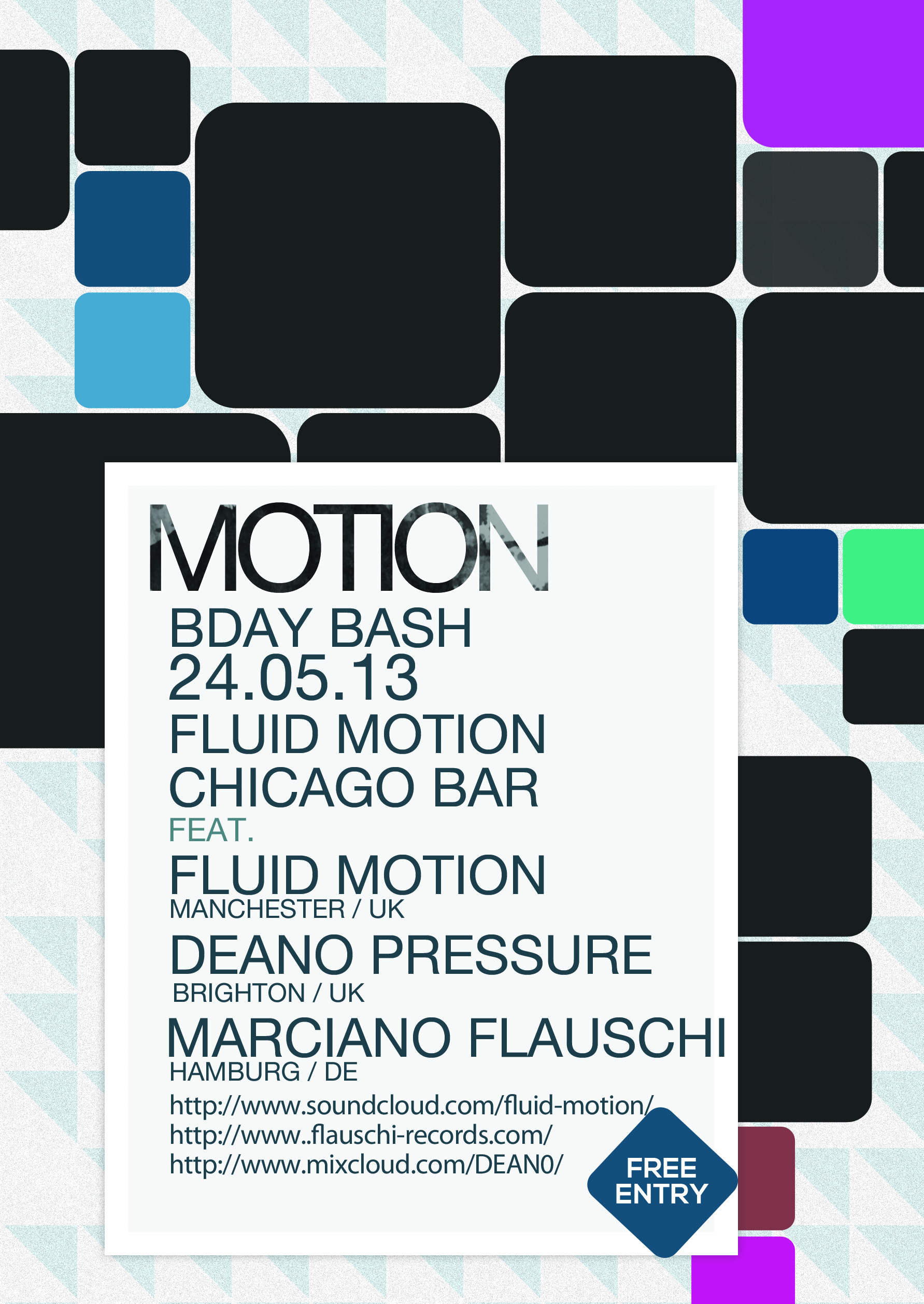 MOTION BDAY BASH 24.05.2013